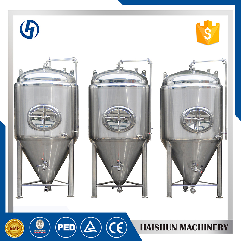 used stainless conical fermenter