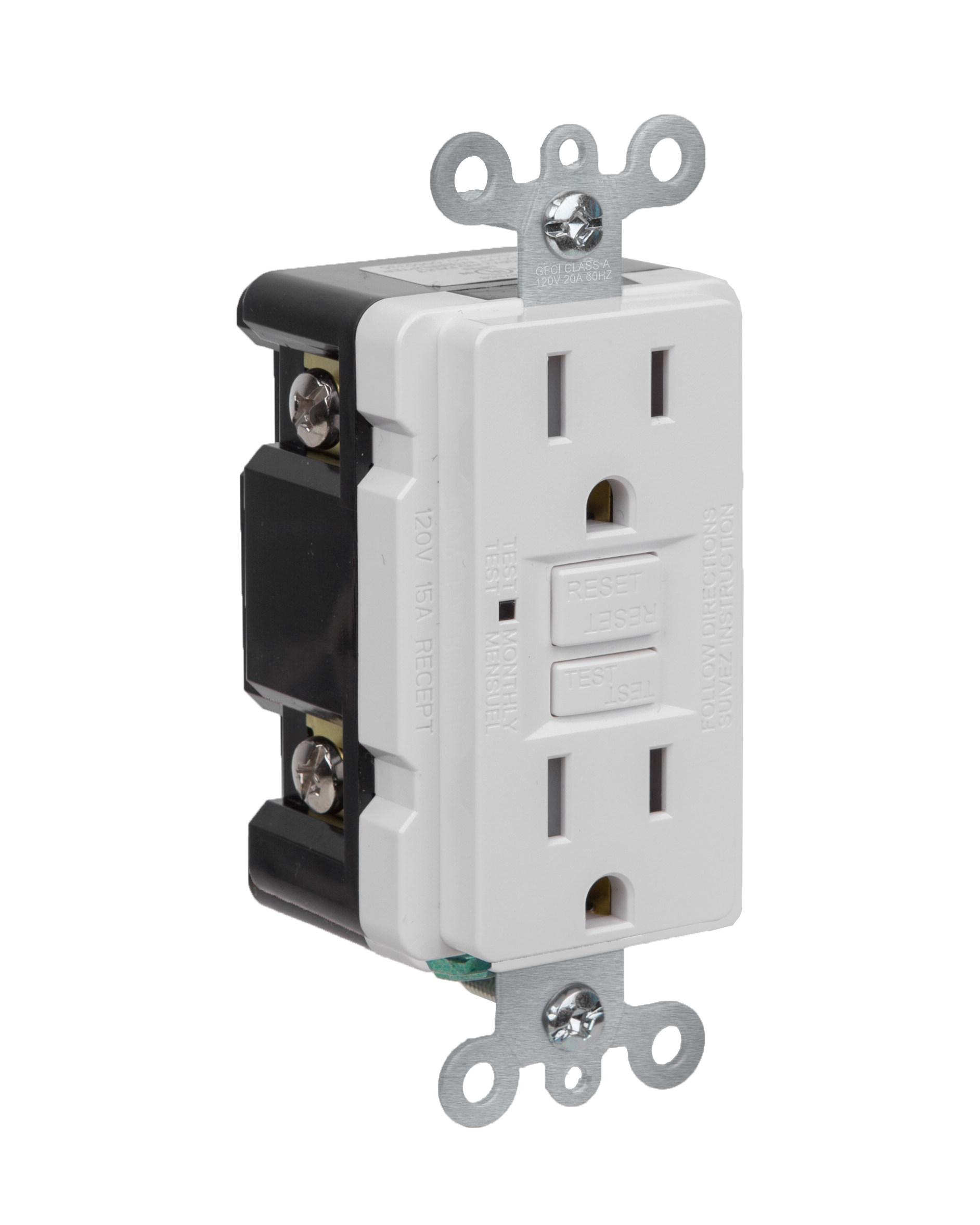 Product - Self-test GFCI receptacle 15A 125V with Tamper-resistant ...