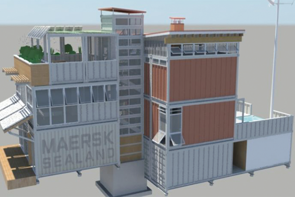 CONTAINER INTEGRATED RESIDENCE