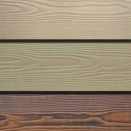 Cement fiberboard with wood  Grain