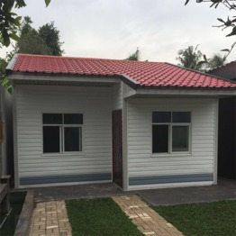 2 bedroom Indonesia custom manufactured homes luxury prefabricated houses