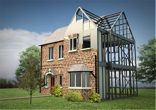 Metal frame house kits profile