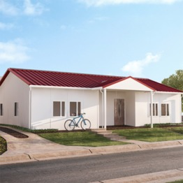 2 bedroom luxury custom modular homes small morden prefabricated villa