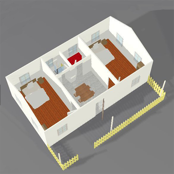 design diagram of this luxury custom modular homes