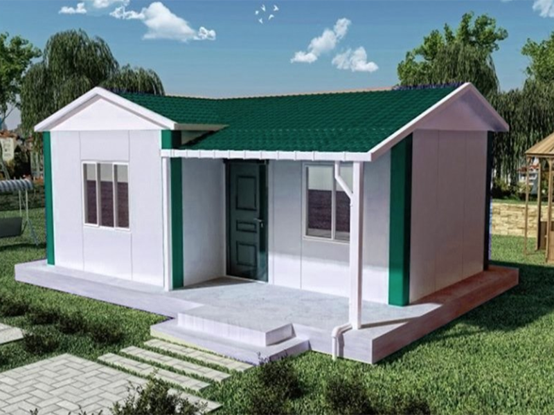 small morden prefabricated villa
