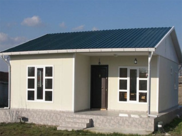 Customized style luxury steel frame homes