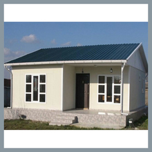 Indonesia small prefabricated homes for sale steel structure villa