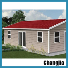 2 bedroom tiny light steel villa prefab modular homes for sale