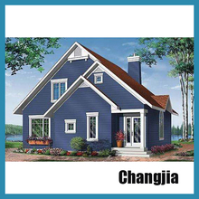 Customized light steel villa light steel house construction