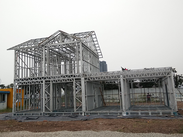 steel frame building materials