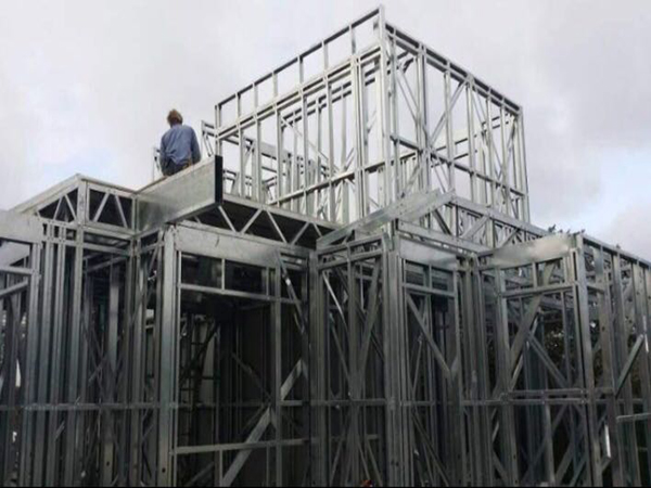 prefabricated steel frame construction