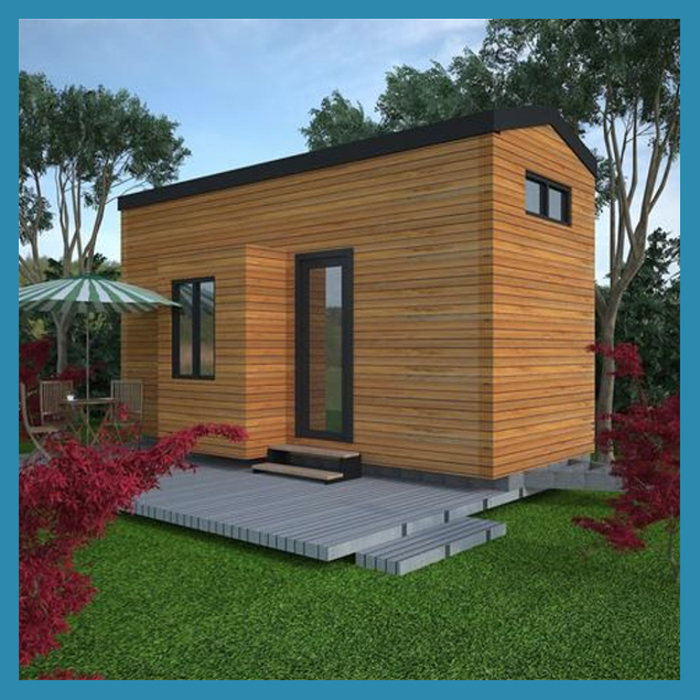 customized style of small modular homes for sale