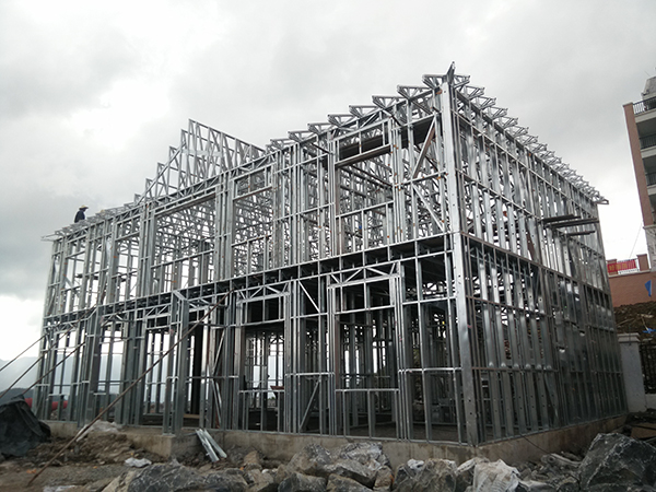 lightweight steel frame house