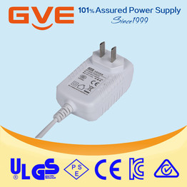 12v 3a ac dc wall-mounted power adapter
