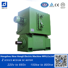 high quality made in china electric dc motor for Machine tools