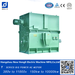 made in china High Voltage AC electric Motor  squire cage ac motor