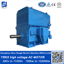 made in china famous motor factory  wound rotor high voltage ac motor