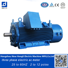 high quality made in china cast iron inveter ac motor 3000v to 11000v