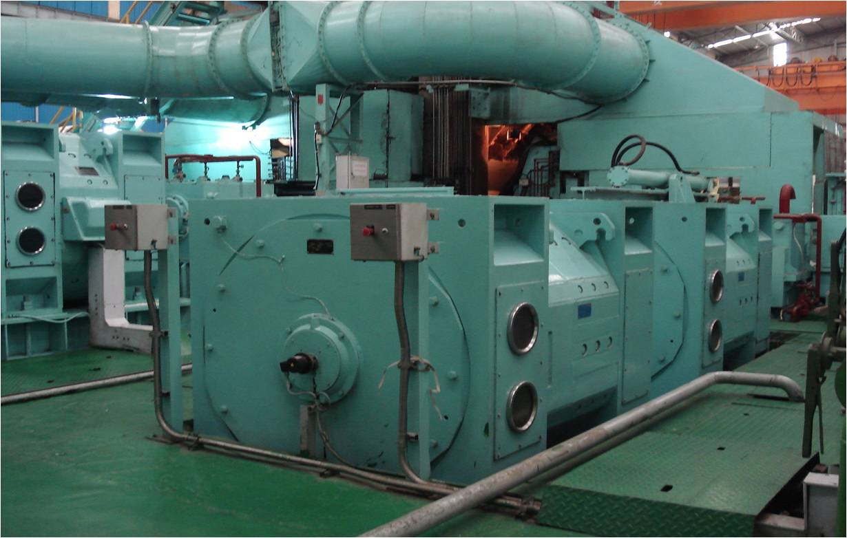 1200kw dc motor for cold rolling mill