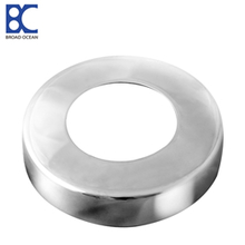 DC-02 2018 newest best selling handrails stainless steel round cover plate for outside