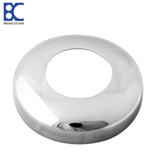 DC-03  AISI304 or 316 mirror  and satin stainless steel handrail post base cover