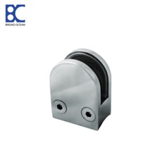GC-02 china supplier cheap stainless steel railing glass clamps fitting