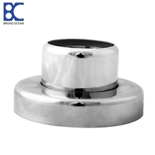 Low price steel round post base plate  and free sample