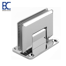 Stainless steel glass clamp hinge