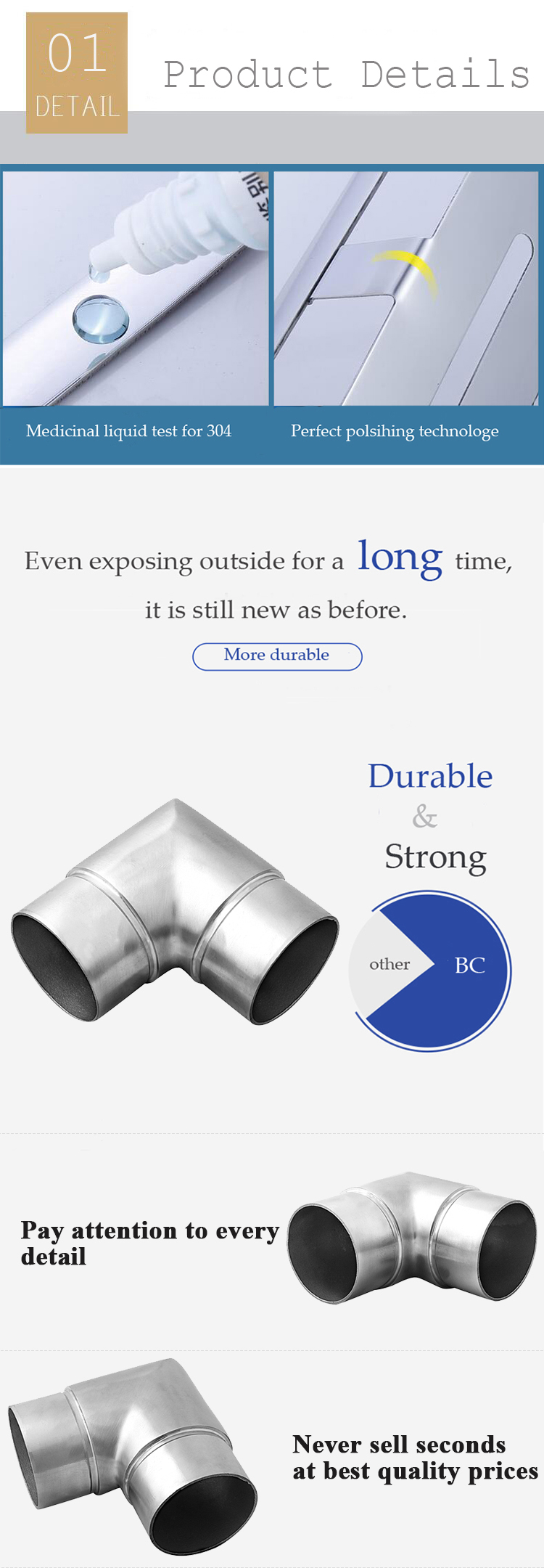 90 degree elbow fitting/stainless steel elbow fitting