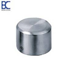304 316 Stainless steel handrail end cap