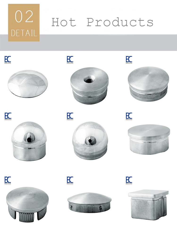 stainless steel end cap