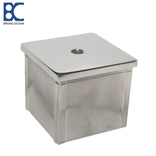 stainless square steel tubing end cap square steel tubing end cap