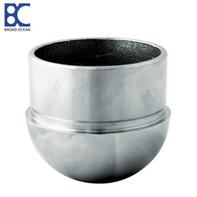 stainless steel tube end caps for aluminum railings