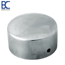 stainless steel 201 304  handrail end caps pvc end cap aluminum end cap