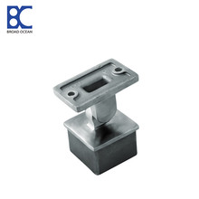 glass stainless steel pipe mounting brackets