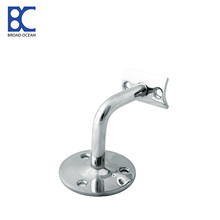 Adjustable handrail brackets for stairs railings