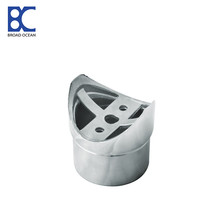 flat stainless steel connector handrail bracket