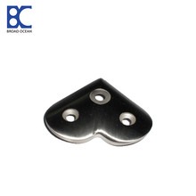 heart-shaped design handrail bracket
