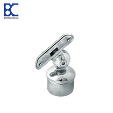 round stainless steel handrail bracket