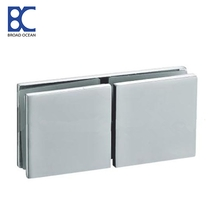 180 degree stainless steel shower door glass clips