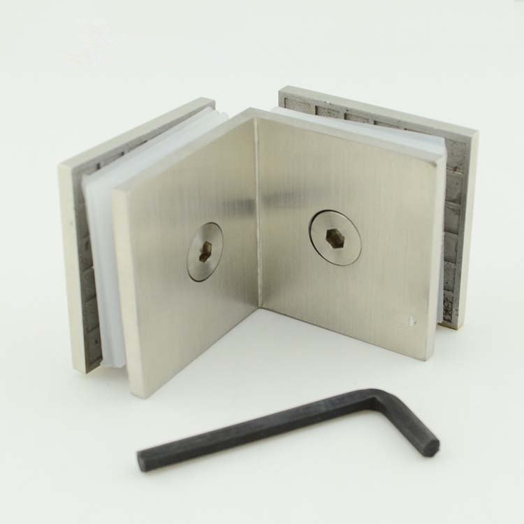stainless steel Glass panel clamp