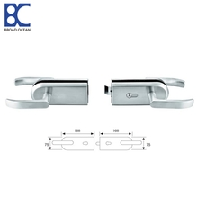 High quality swing frameless sliding glass door lock accessory