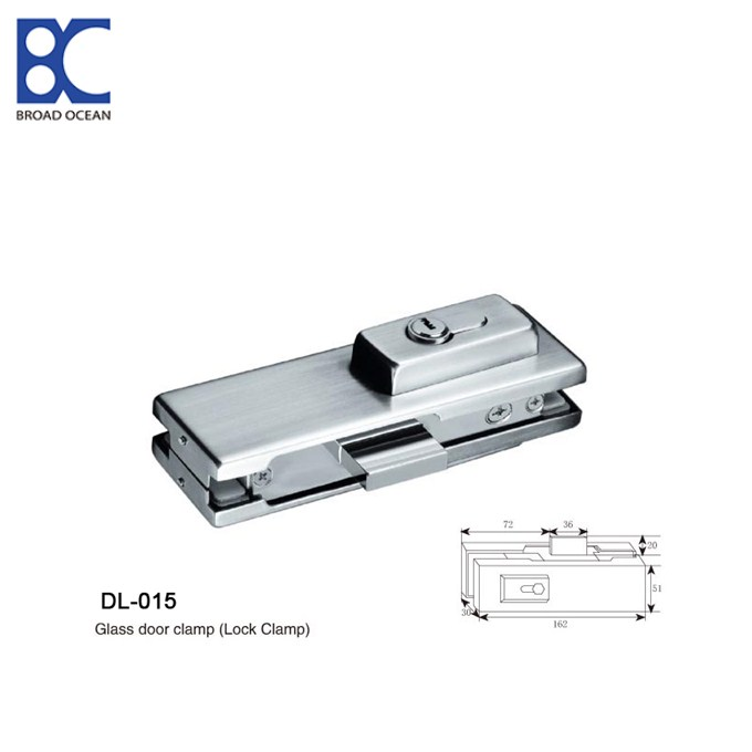 patch fittings Glass door lock