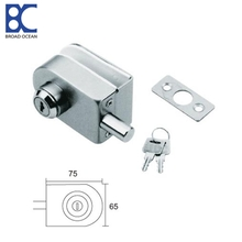 glass door floor lock Glass door lock