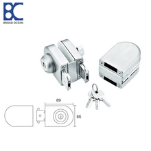 double glass door lock