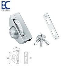 frameless glass door magnetic lock