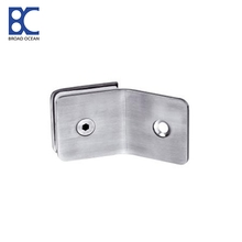 shower hinge  glass connector