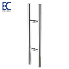 stainless door handle