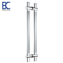 stainless steel door handles for glass door