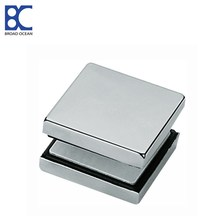 stainless steel glass door fittings cover plate